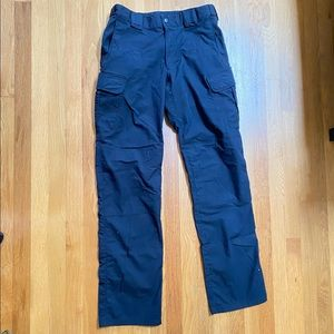 Men's 5.11 Tactical Navy Blue Cargo Utility Pants Size: 32